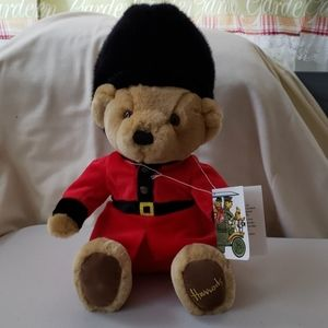 Collectible bear Harrods tag still attached